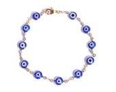 Pulseira Olho Grego - azul