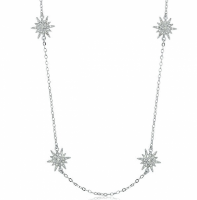 Colar  Estrelas - 45 cm